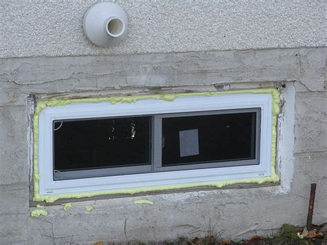 window installation how to install basement window