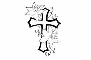 memory cross template 10 cross memorial designs