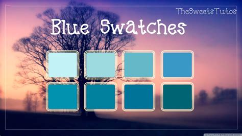 blue swatches blue swatches by thesweetstutos on deviantart