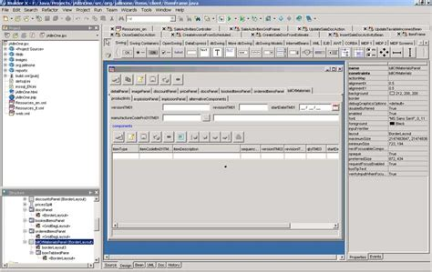 netbeans java swing tutorial netbeans swing components 28 images whole java