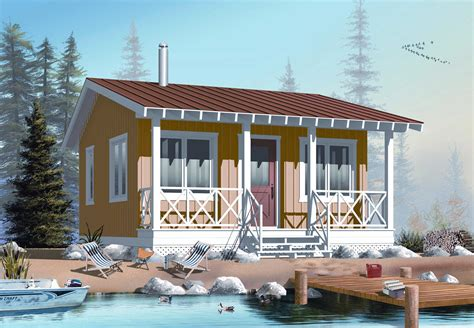 vacation house plans small four season vacation home plan 2177dr architectural