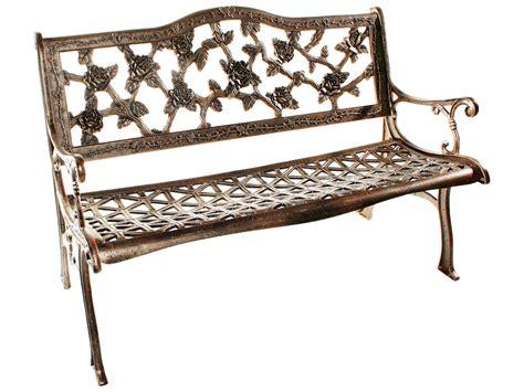 bench bar oakland oakland living english rose cast aluminum bench in antique