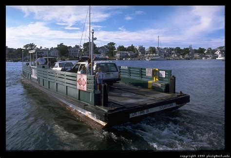 Chappaquiddick Island Size Chappaquiddick Ferry 11
