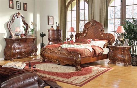 Bedroom Furniture Set 139 W Bombe Dresser Nightstand Chest Bombe Bedroom Furniture