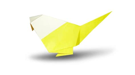 Folding Paper Birds - how to fold an origami bird