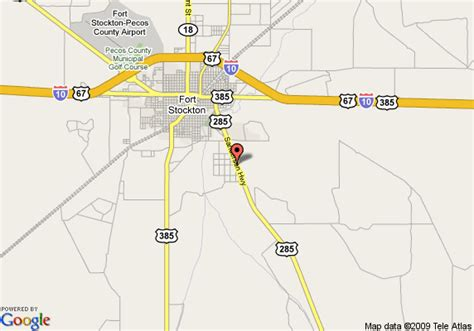map of fort stockton texas map of knights inn and suites atrium west fort stockton