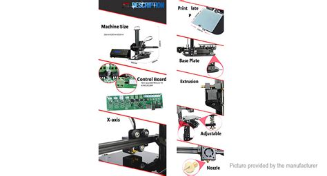 Diy 3d Tronxy Y Axis Heat Bed Support Acrylic 7mm wiring x3a tronxy diagram 25 wiring diagram images wiring diagrams 138dhw co