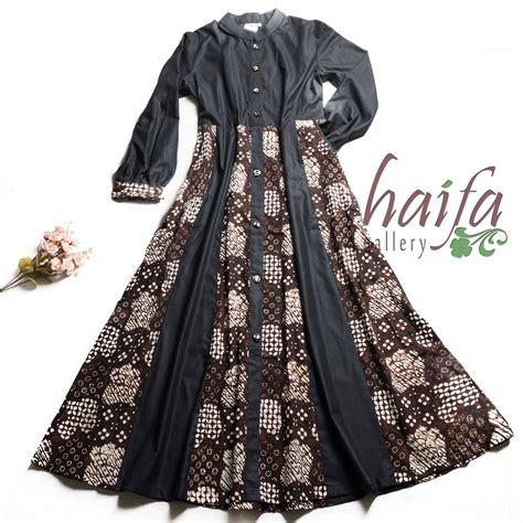 Batik Gamis gamis batik rumah jahit haifa