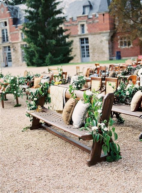chairs garden wedding 12 ways to make you wedding aisle look fabulous