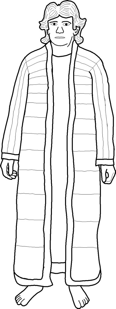 Joseph In Prison Free Colouring Pages Joseph In Prison Coloring Pages