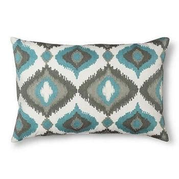 Threshold Decorative Pillow - threshold taupe ogee pillow