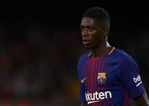 barcelona ousmane dembele ousmane demb 233 l 233 shines on debut as barcelona thrash