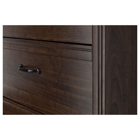 Brusali 4 Drawer Chest by Brusali Chest Of 4 Drawers Brown 80x117 Cm