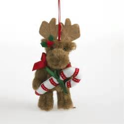 boyds 5in plush moose christmas ornament 4034496