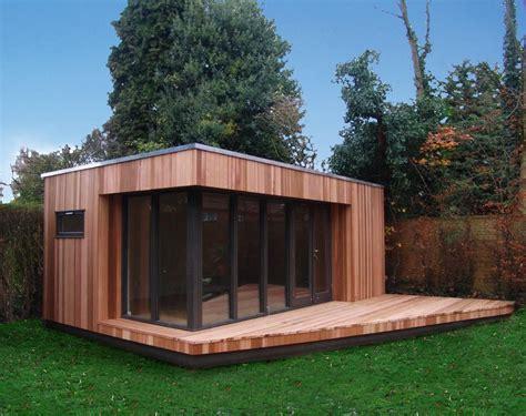 Outdoor Garage Designs modern garden room garden lodges