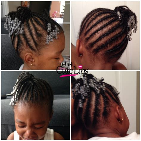 rubber band connectt to one ponytail hairstyles natural hairstyles for kids mimicutelips