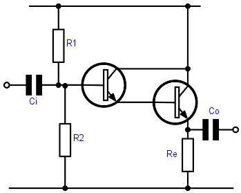 darlington transistor circuits darlington pair design circuit calculations