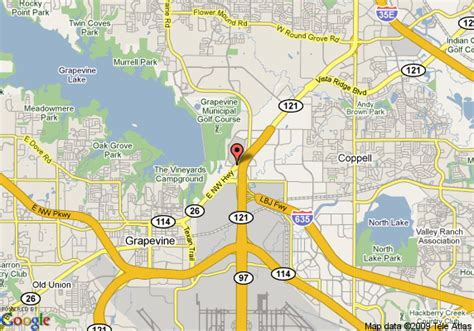 map grapevine texas map of residence inn dfw airport grapevine grapevine