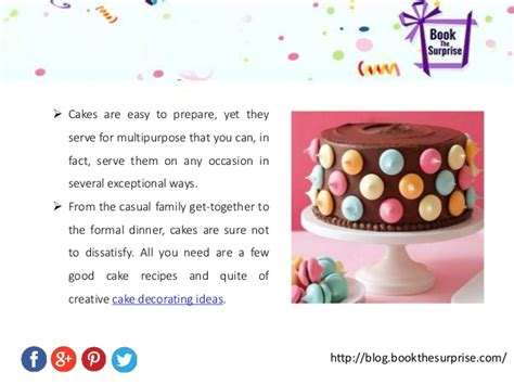 how to bake a cake and cake decorating ideas