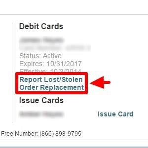 how to order replacement cards or report cards as lost