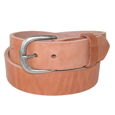 mens heavy duty one leather work belt by boston