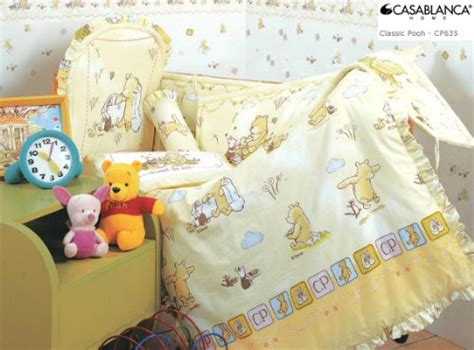 Disney Classic Pooh Crib Bedding Food Decor Winnie The Pooh Nursery Ideas