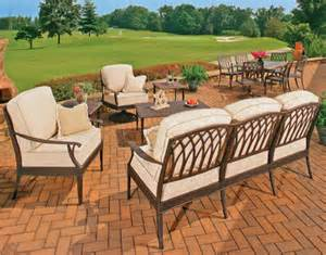 Cast Aluminum Outdoor Furniture Venezia Collection Cast Aluminum Outdoor Furniture
