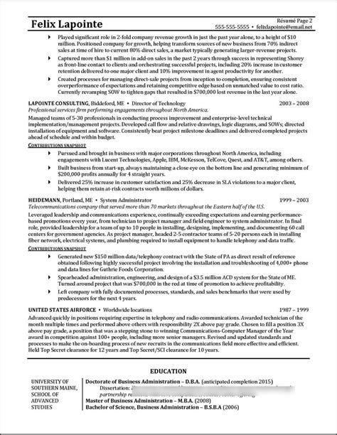 resume awesome program manager resume resume sample of project