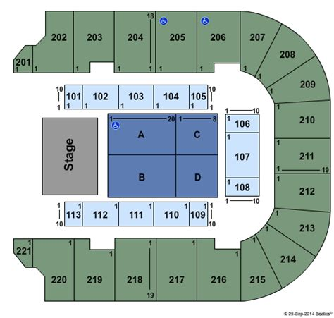 bancorpsouth arena seating map i the 90s tupelo tickets 2017 i the 90s