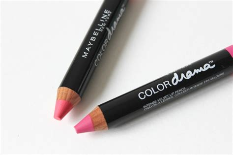 Maybelline Lipstick Pencil maybelline color drama velvet lip pencils review tattooed tealady