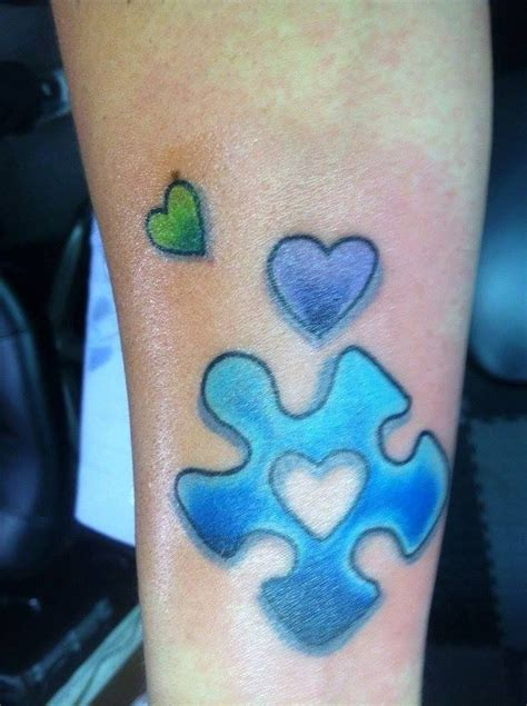autism puzzle piece tattoo 23 best autism tattoos images on autism