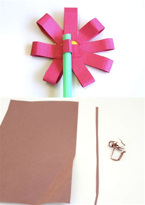 How To Make Paper Flower Pots - how to make paper flowers and origami flower pots make
