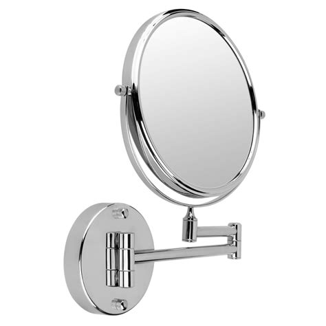 new ikea extendable magnifying wall mount makeup shaving 5x magnification 8 inch extendable double sided magnifying