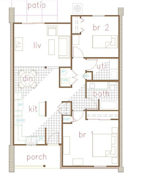 fourplex plans fourplex floor plans 28 images 2 bedroom 2 bath