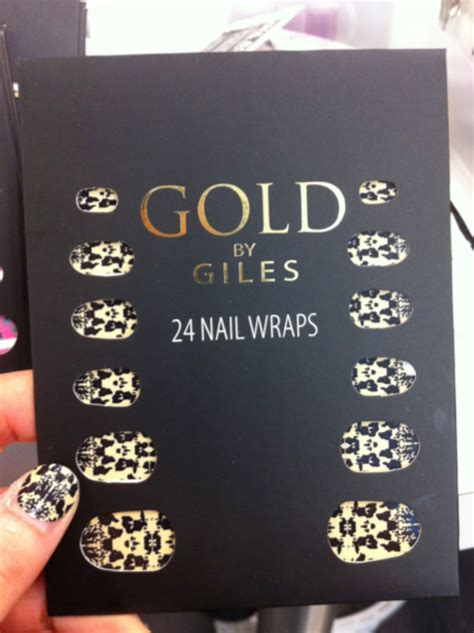 Giles Deacons Gold Season Range Soon To Hit Stores by Nail Hart Guest Post By Si Tuong Giles For New Look