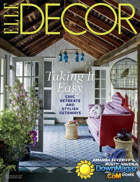 home decor magazines usa elle decor usa 07 08 2017 187 download pdf magazines magazines commumity