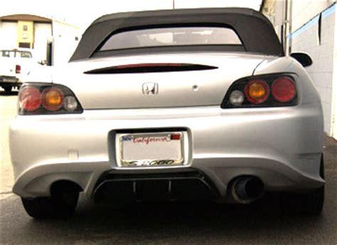 downforce sport rear bumper honda s2000 00 08