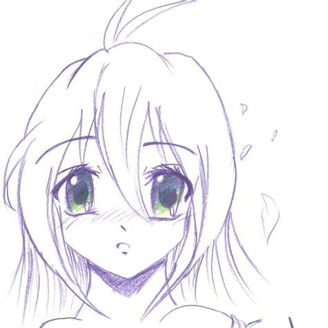 www easy easy anime drawings easy anime drawings drawing pencil