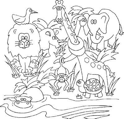 coloring pages animals jungle 17 best images about coloring on pinterest coloring