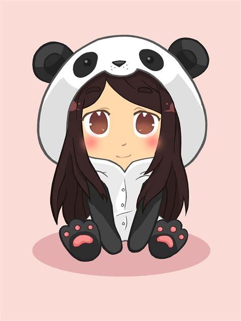 anime chibi panda www imgkid the image kid