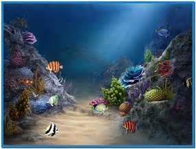 3d fish aquarium screensaver