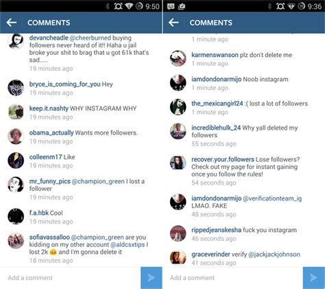 celebrity instagram account names instagram follower counts plummet after spam account removal