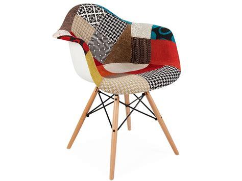 patchwork stuhl daw stuhl wollpolsterung patchwork