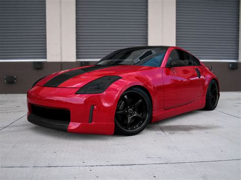 red nissan 350z description from nissan 350z red black rims stdfqvcv