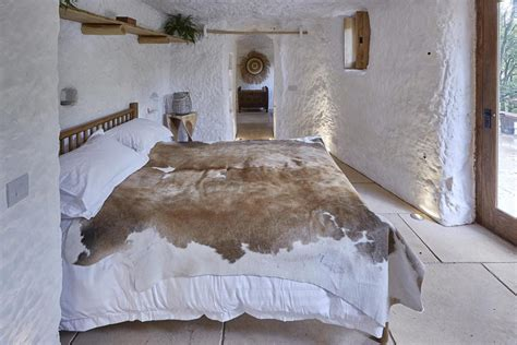 cave bedroom former businessman converts hobbit hole into 21st century