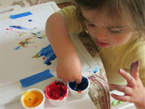 finger painting for toddlers finger painting archives no time for flash cards