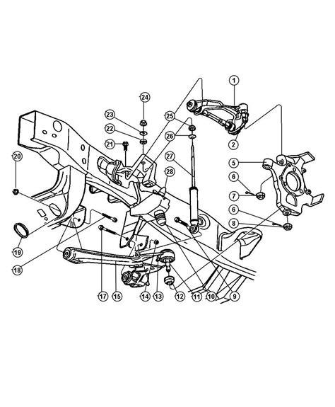 dodge dakota front end parts 1998 dodge dakota suspension front arms shocks