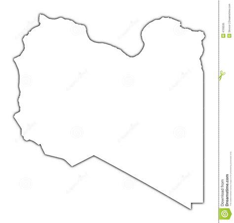 Libya Map Outline by Libya Outline Map Stock Illustration Illustration Of Graphics 4709535