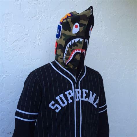 Supreme X Bape bape x supreme