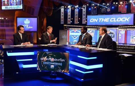 2015 nba mock draft nfl college sports nba and recruiting espn commentators for the 2015 nfl draft in chicago espn